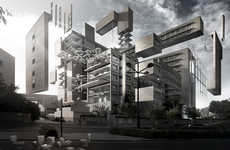 Urban Recycling Photography - Creative Dismantling by Espai Mgr Showcases Inventive Reconstructions
