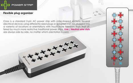 Cross Power Strip