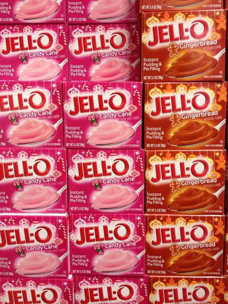 candy cane jell-o pudding