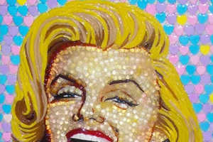 These Celebrity Portraits Are Made with Over 5,000 Candy Pieces