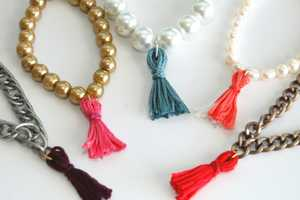 The Thread Fringe Bracelet is Simple to Construct