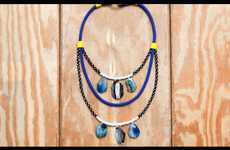 Rock Climbing-Inspired Necklaces - DIY Proenza Schouler Necklace by Refinery29 Features Rough Stones