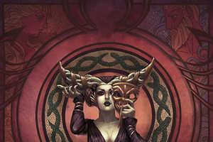 The Jessica Oyhenart Ball Illustrations Feature Princesses & Villains