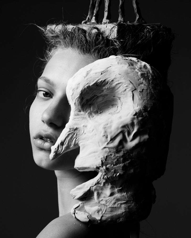 Sculptor-Inspired Photoshoots