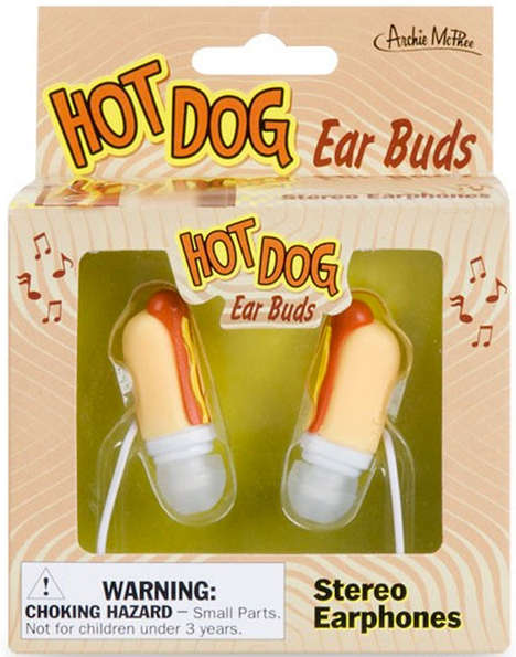 Hot Dog Ear Buds