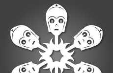 37 Festive Snowflake Designs