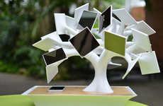 Solar Charging Bonsai Trees