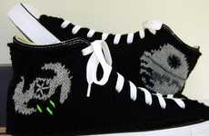 Geek-Chic Crochet Kicks