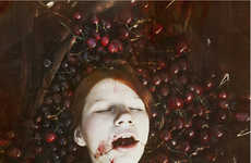 Morbid Mouth-Full Photography - Jessica Tremp Over Unto Silence Puts a Twist on Still-Life Imagery