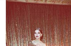 Glistening Glamour Editorials