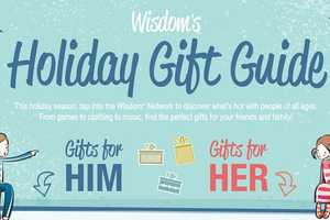 The Wisdom Infographic Gives You Insight For Christmas Gift Ideas