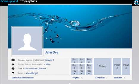 Facebook-Enhancing Resumes - Facebook Timeline Resume Uses Social Media to Display One's CV