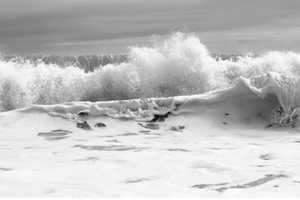 Clifford Ross Hurricanes Photography Shows Storm-Driven Waves