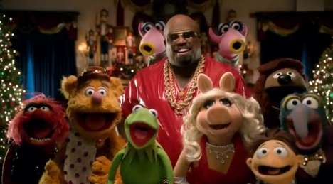 The muppets Christmas song