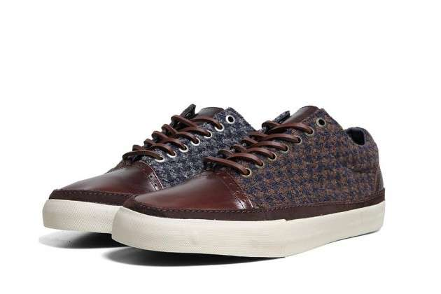 Masculine Tweed Sneakers
