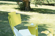 Geometric Lawn Furniture