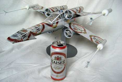 Beer Can Model Fighter