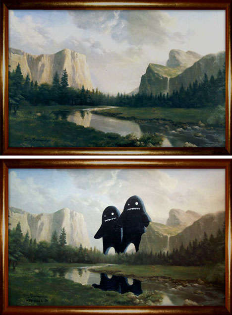 thrift-store paintings