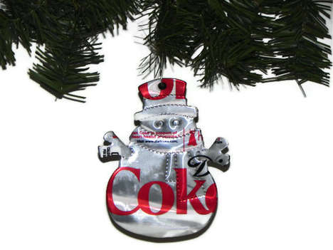 Pepsi Snowman Christmas Ornament