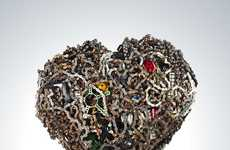 Recycled Bicycle Art Competitions - The pART PROJECT Makes Use of Discarded Materials