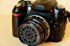 DIY Tiltshift Camera Lens