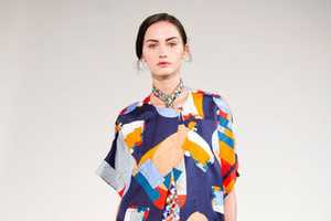 Hermès Spring 2013 Collection is a Scarf Explosion