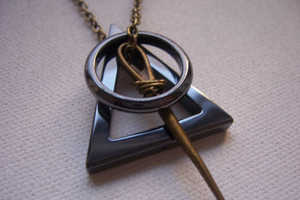 The Deathly Hallows Necklace is for the Devoted Harry Potter Fans