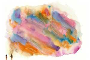 The Alexander Pieri Watercolors are Abstract Scenes