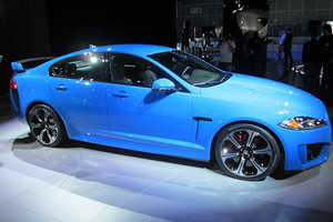 The Jaguar XFRS Sedan Goes Zero to Sixty in 4.4 Seconds
