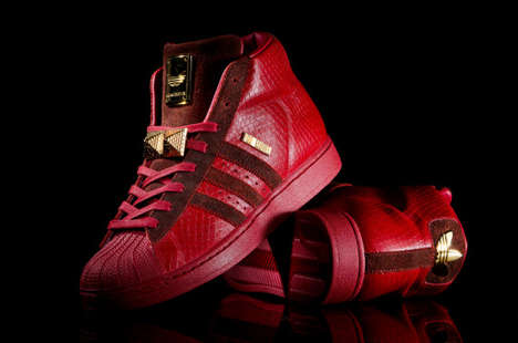 Honorary Rapper Leather Sneakers - The Big Sean x Adidas Originals Shoes are Limited to 380 Pairs