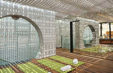 Kaleidescopic Mirrored Accomodations - The Hotel Vander Urbani Resort is Spacious and Welcoming