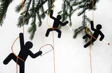 Undercover Ninja Decorations - The Hooligans Christmas Ornament is for Spy Kids