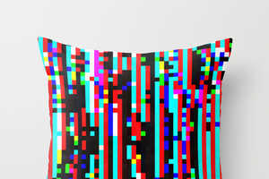 These Stallio Glitch Cushions are Tech-Inspired