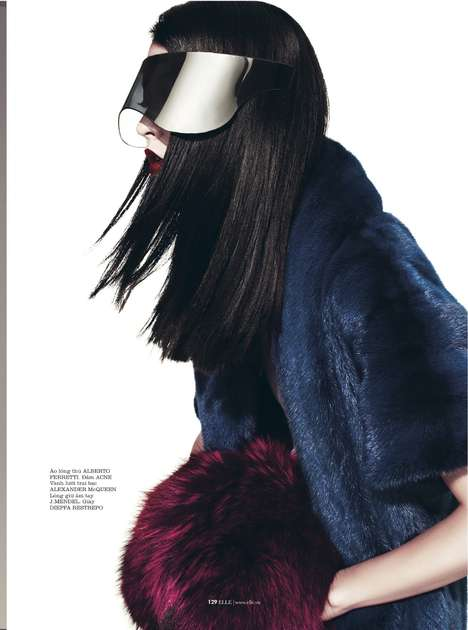 Elle Vietnam December 2012