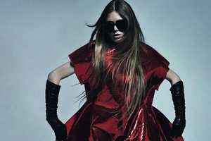 The Vogue Russia 'Volume Overturn' Spread Shows Off Gutsy Fashion