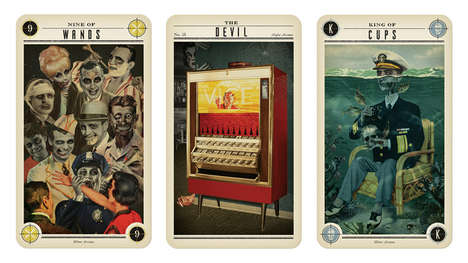 Zombie Tarot Cards