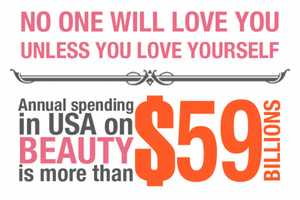 'Cost of Beauty' Graph Follows America's Rising Expenditures