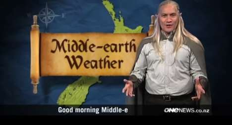 Middle-earth Weather Forecast