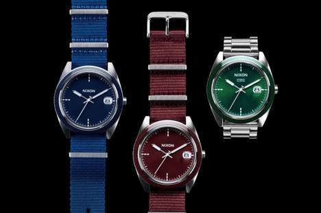 Holiday Hued Timepieces - The Barneys Holiday Collection 2012 Introduces New Nixon Watches
