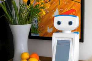 This Personal Trainer Robot Named Autom Encourages Healthy Habits