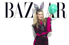 Alexandra Richards December's Harper Bazaar 2012