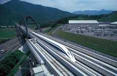 Futuristic Magnet Trains - Japan's Fastest Train Uses a Magnet Propelled Track System