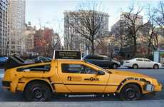 Nooka Transforming Back to the Future Delorean into Yellow Cab