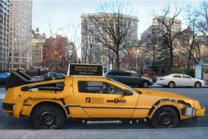 Nooka Transforming Back to the Future Delorean into Yellow Cab