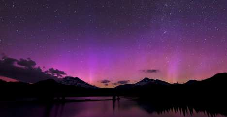 Surreal Skyline Videos - The Goldpaint Photography Delivers Night Sky and Landscape Video