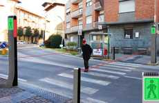 Laser-Guided Street Corners