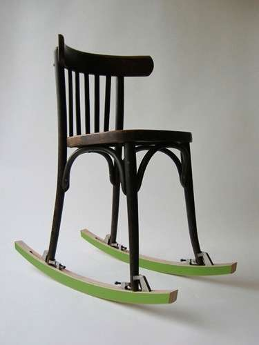 Chair-Converting Kits - The Rocker by OOOMS Turns Static Seats into Motion-Filled Furniture