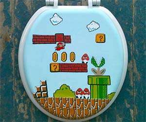 Nintendo Toilet Seat
