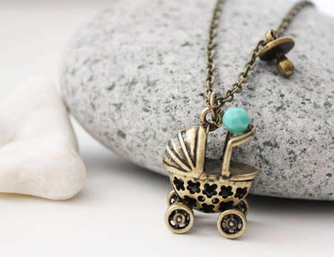 Whimsy Baby Pram Necklace