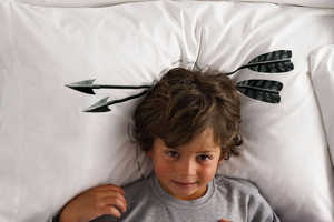 Head Case Pillowcases Add a Little Humor While You Rest